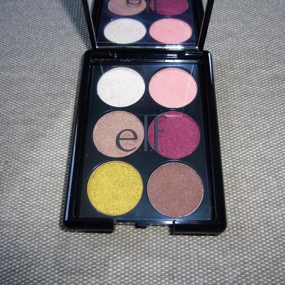 ELF Other - ELF velvet touch eye shadow palette, Island Breeze